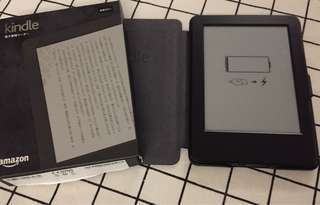 Kindle 4GB連皮套