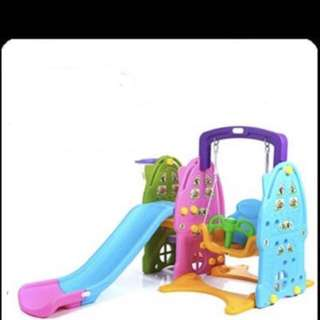 3 In 1 Swing Slide 165cm ( Playground Indoor Outdoor )