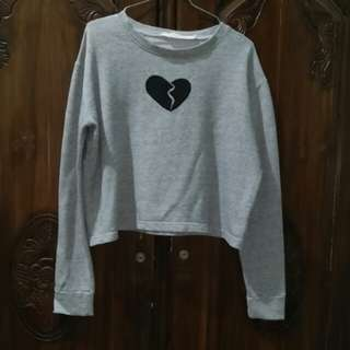 Grey jumper Oneandhalf