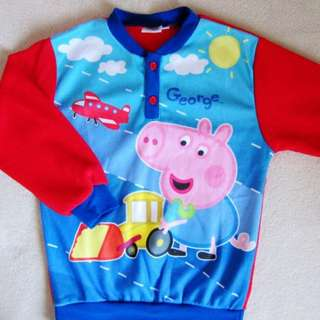 New Peppa Pig sweater 長袖衛衣 size 110
