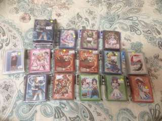 WTS Anime/VG Sleeves