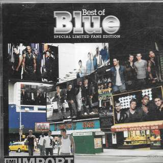 MY PRELOVED CD -BEST OF THE BLUE - SPECIAL LIMITED EDITION FAN 2 CDS  /FREE DELIVERY (F7S))