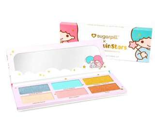Little twin stars x sugar pill eye shadow palette