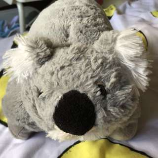 Koala plushie to pillow