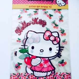 BN Limited-Edition Hello Kitty Plastic gift bags