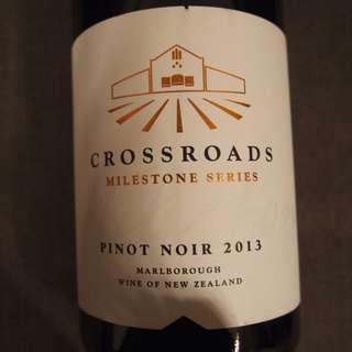 Crossroads Milestone Series Pinot Noir, Marlborough, New Zealand