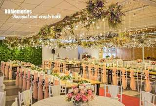 Romantic garden wedding banquet package @ Johor Bahru