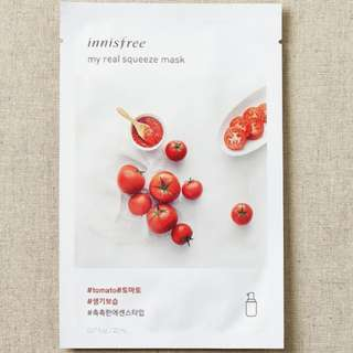 ❤️INSTOCKS❤️ Innisfree My Real Squeeze Mask [Tomato 🍅 ] - $1.30