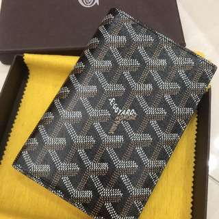 Goyard Black colour Passport holder