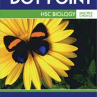 Dot point biology HSC multiple choice