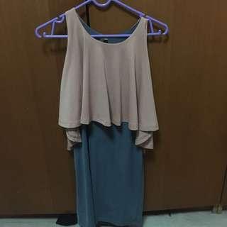 Instock: Colourblock body con dress
