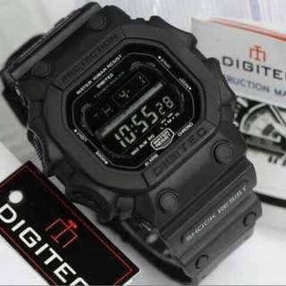 Jam tangan Pria Digitec DG-2012T Digital Original