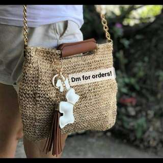 Crochet Abaca Sling Bag