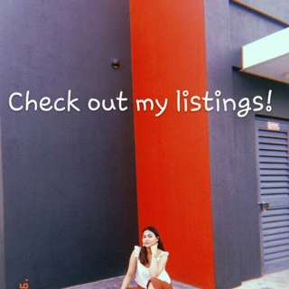 Come, visit my listings!