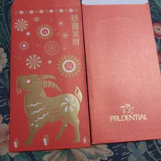 Prudential red packet (6 pcs)