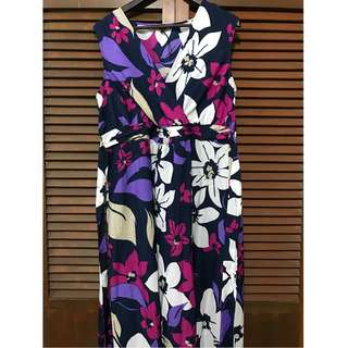 Navy Floral Maxi Dress with Beading (The Collection by Debenhams)