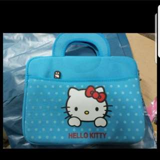 In stock hello kitty ipad bag laptop bag for 10 inches gadget