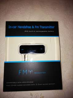 In-Car Handsfree & FM Transmitter