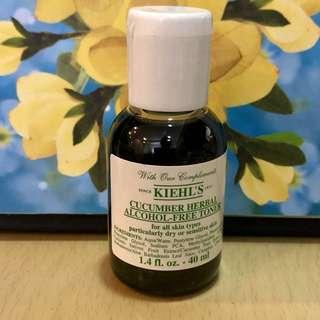 Kiehl's cucumber toner mini