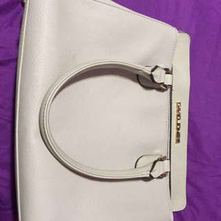 David Jones Leather Handbag