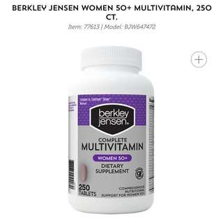 Berkley Jensen Women 50+ Multivitamin