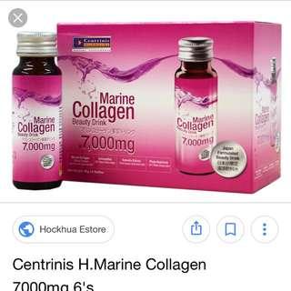 Collagen drink