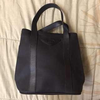 Authentic black tote bag