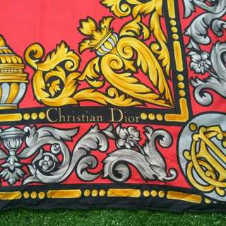 Authentic scarf christian dior