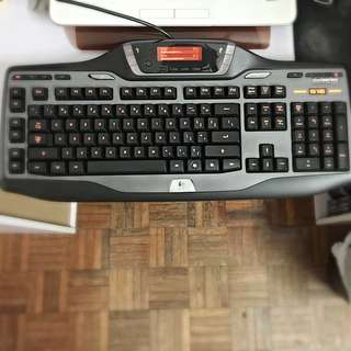 Logitech G15 (2nd Gen) Gaming Keyboard (used 80% New And Well Maintained)