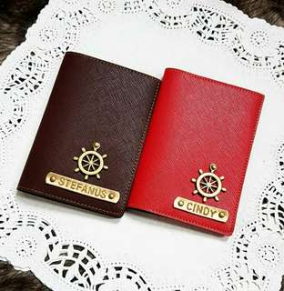 PASSPORT COVER - PASSPORT CASE - SAMPUL PASPOR - PASSPORT HOLDER - WALLET - TEMPAT PASSPOT