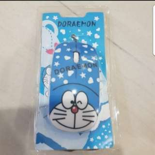 In stock doraemon laptop wired mouse