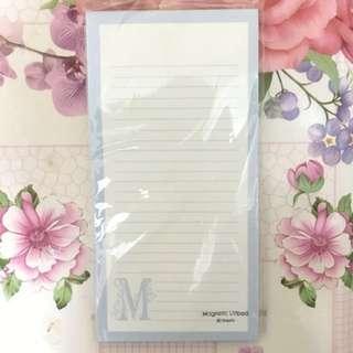磁石 listpad (80張)(10.2cmX20.3cm)