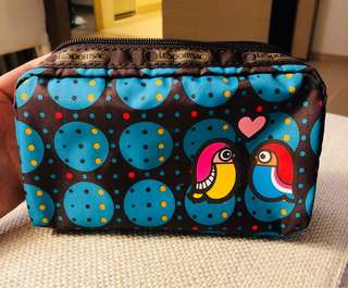 LeSportsac Travel/Cosmetic Accessory Bag New