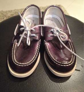 Sperry Purple Patent Shoes