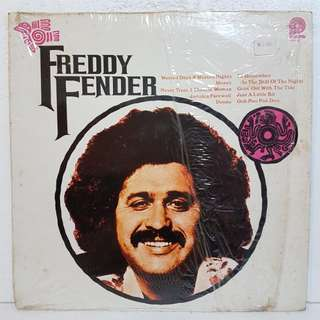 "Reserved: Freddy Fender - The Story Of An ""Overnight Sensation""Vinyl Record"
