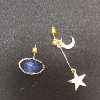 星球星星耳環