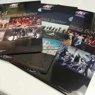 TVB 46周年文件夾