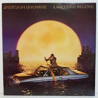 Jackson Browne- Lawyers In Love Vinyl Record