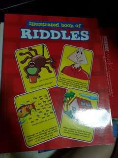 Illustated book of riddles