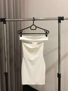 Missguided White Dress XS