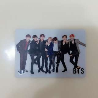 BTS 團體卡