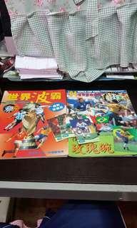 1994年世界盃雜誌 送球王白咭八張