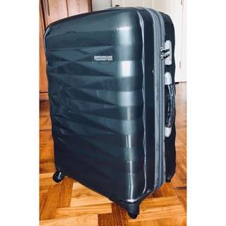 American Tourister Luggage Crystalite Dark Grey