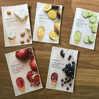 $1.30 ❤️INSTOCK❤️Innisfree Its Real Squeeze Mask
