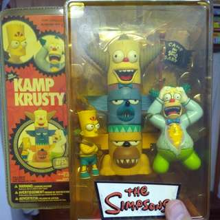 Kamp Krusty The Simpsons Collectible