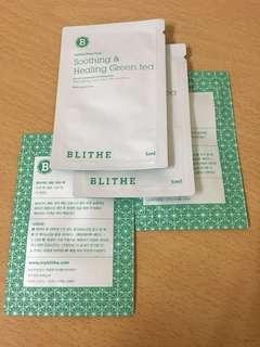 Blithe Soothing Healing Green Tea Splash Mask