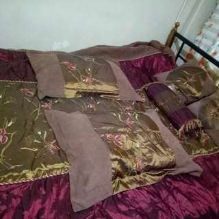 Bed sheets,throwpillows,bolster,pillow cases