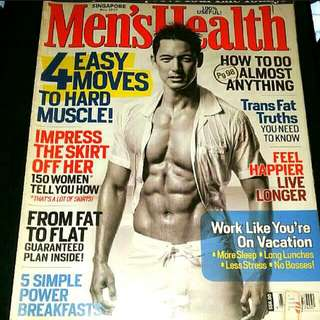 BOOK/MAGAZINE - Men's Health Magazine For Sale