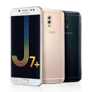 Dijual Samsung J7+ Promo Bunga 0,99% Pakai Home Credit Proses Cepat