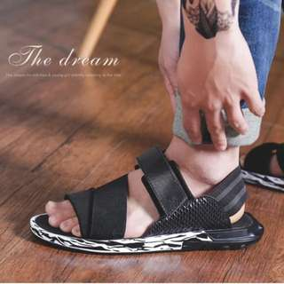 Men's Roman shoes sports sandals men's tide summer new Korean version of the trend of men's shoes cool slippers casual sandals